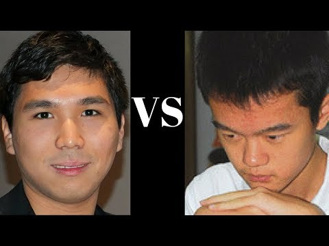 Mega-tactical chess game: Wesley So vs Ding Liren World Cup (2017)