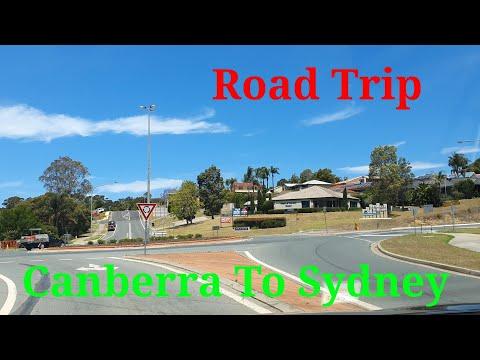 Canberra To Sydney Drive   Road  Trip   4K  #australia #Canberra #Sydney #4k