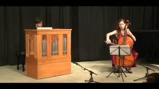 Live on a Vagi Continuo Organ and Cello: Couperin - Concert Pieces en Concert II. Sicilienne