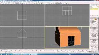 3Ds Max Low Poly House Tutorial