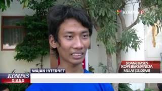 Mahasiswa Ciptakan Penguat Sinyal Internet dari Wajan