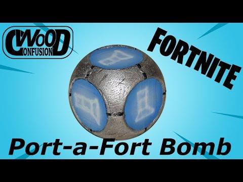 DIY Fortnite Port-a-Fort Bomb