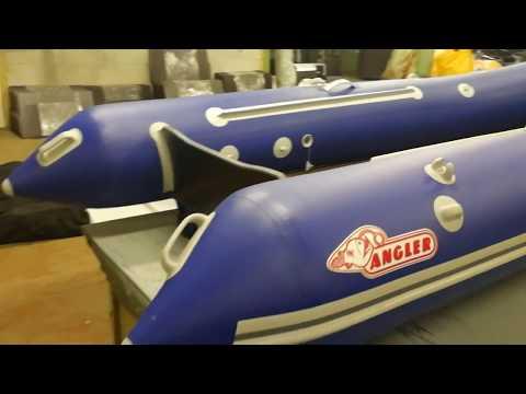 Новая лодка Англер Тритон 2019