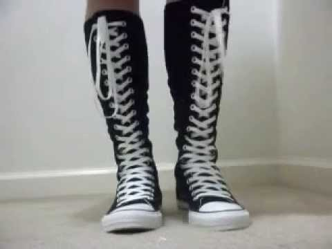 4f2571cd523 Converse All Star xx-hi top - YouTube