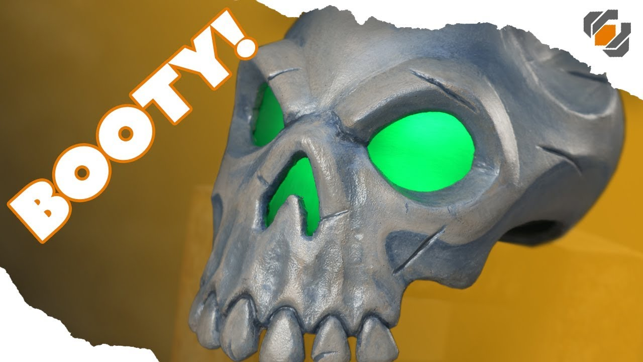 sea of thieves skull prop one day build tutorial free