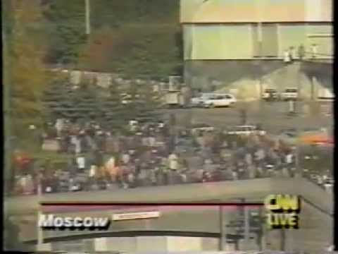 1993 Crisis in Moscow: Siege of Russian Parliament Broken
