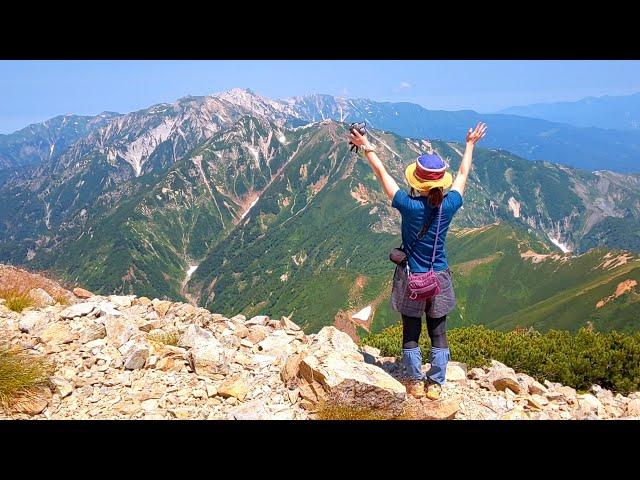 『日本百名山』五竜岳へ*°  八方尾根から往復日帰り