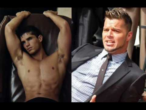 Ricky Martin and  Eduardo Verastegui love gay