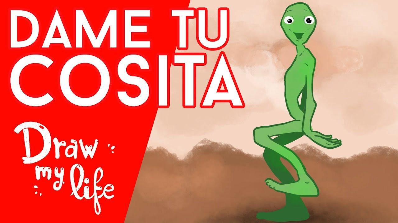 El ORIGEN de DAME TU COSITA CHALLENGE | ALIEN POPOY | Draw My Life