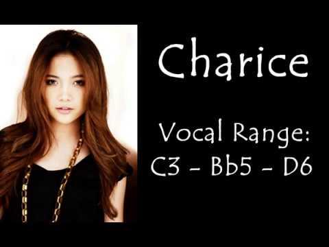 Charice Vocal Range: C3 - Bb5 - D6