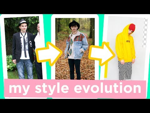 From Emo to Hipster?! | My Style Evolution | Dapper Alien