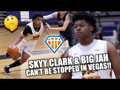 Skyy Clark & Big Jah CAN'T BE STOPPED OUT IN VEGAS!! | Strive For Greatness 15u Highlights