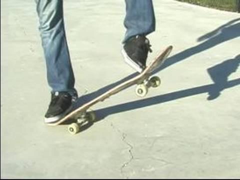 How To Do Skateboard Tricks : How To Do A Kickflip On A Skateboard