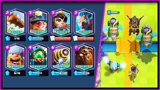 WHAT HAPPENS WHEN YOU USE ALL LEGENDARIES!? YOU WON'T BELIEVE THIS Clash Royale Deck!