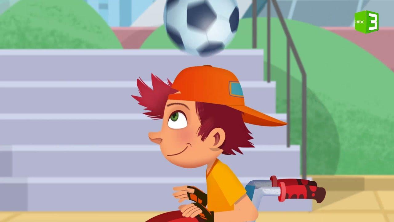ويل يلعب كرة القدم