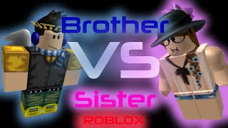 Brother VS Sister - A ROBLOX Short