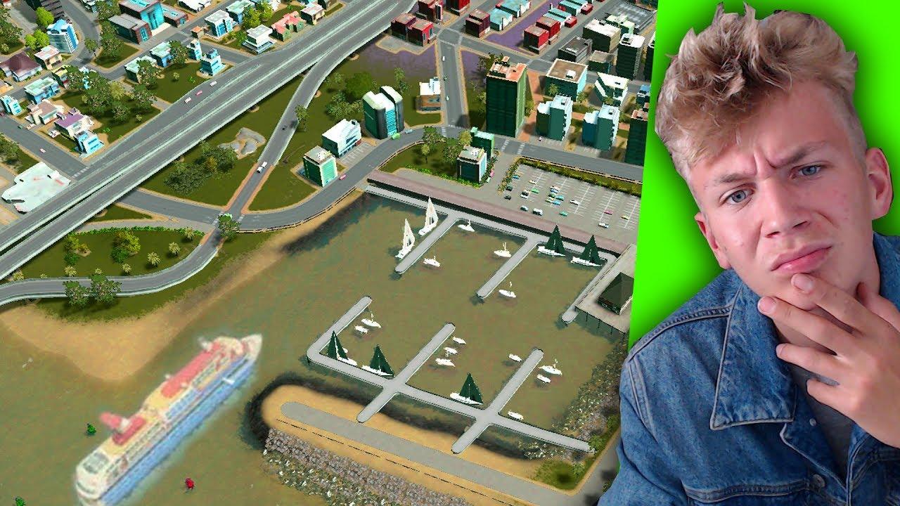 DEZE JACHTHAVEN HAD MIJN STAD NODIG! (Cities Skylines #4)