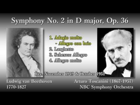 Beethoven: Symphony No. 2, Toscanini & NBCso (1949) ベートーヴェン 交響曲第2番 トスカニーニ