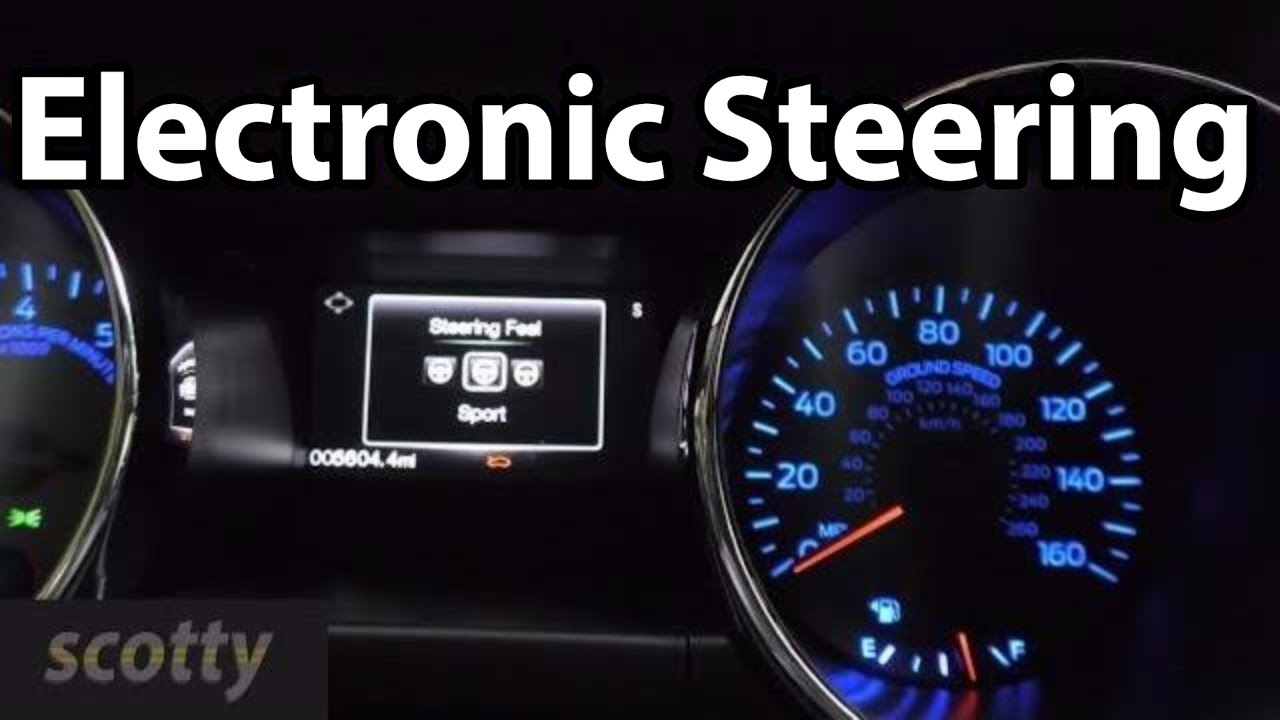 Do You Want Electronic Steering