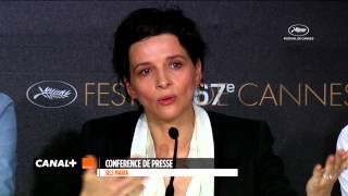 Cannes 2014 CLOUDS OF SILS MARIA The Best Of The Press Conference