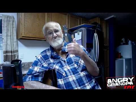 Angry Grandpa LIVE on Twitch! (official broadcast 6)