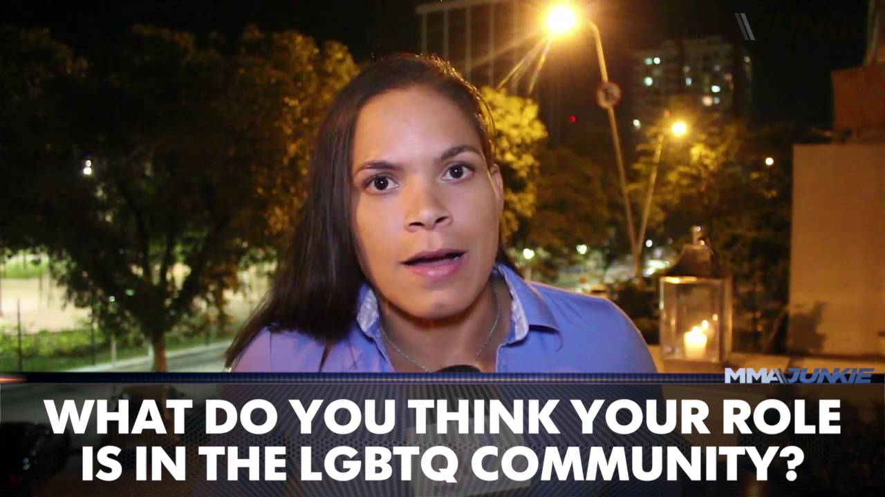 Amanda Nunes Ufc S First Openly Gay Champ Discusses