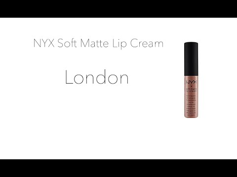 REVIEW: NYX Soft Matte Lip Cream - LONDON