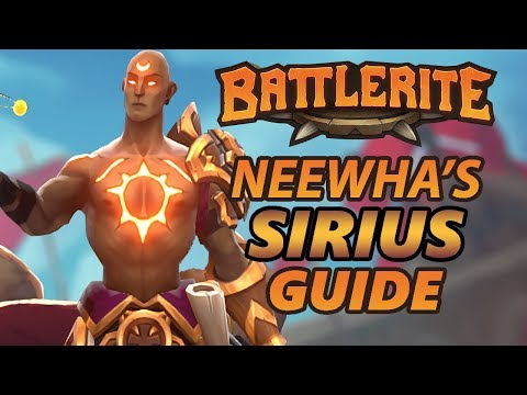Sirius Battlerite Guide and Loadout Overview