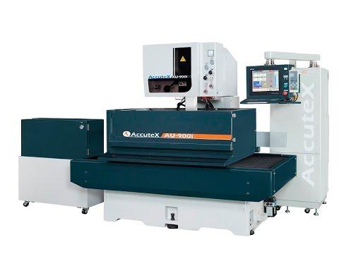 เครื่องไวร์คัท AccuteX Wire Cut EDM AU-900iA presentation