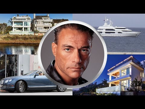 JEAN CLAUDE VAN DAMME ● BIOGRAPHY ● House ● Cars ● Family ●  Net worth ● 2017