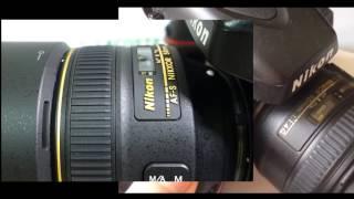Скорость фокусировки Nikon 58 1.4G vs 50 1.4G