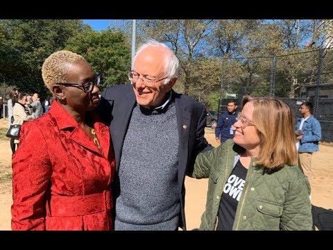 #BerniesBack   Bernie Sanders' Lt Nina Turner Lays Into Elizabeth Warren At Massive Rally