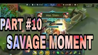 Baixar BEST SAVAGE MOMENT MOBILE LEGENDS PART #10