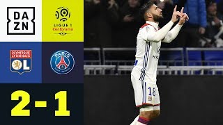 Erste Liga-Pleite für PSG: Olympique Lyon - Paris Saint-Germain 2:1 | Ligue 1 | DAZN Highlights