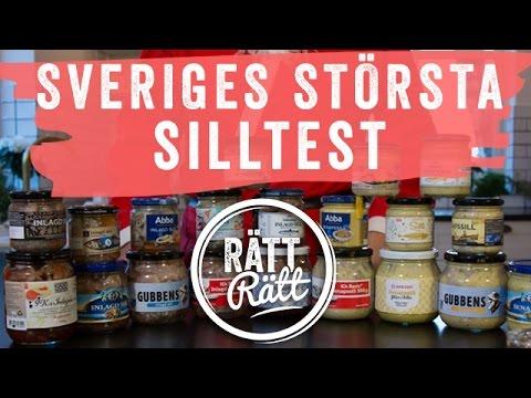 Bästa Sillen - Stort test av inlagd sill och senapssill