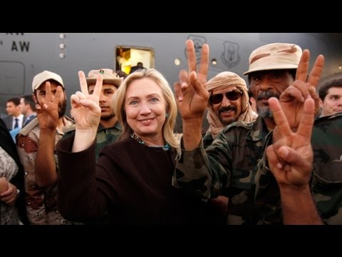 Hillary Clinton in Tripoli - no comment
