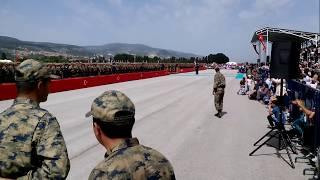 Kütahya hava er eğitim tugay komutanlığında yemin töreni