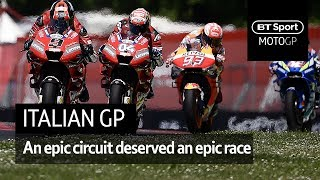 MotoGP Highlights: Italy (2019) | An epic circuit deserved an epic race!