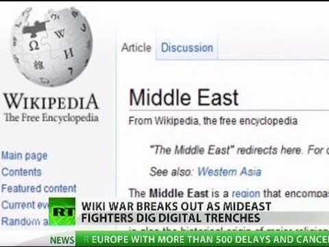 Wiki War: Israel, Palestine dig digital trenches