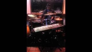 Earl Ivey drum solo at Costas Inn....Dundalk, Md