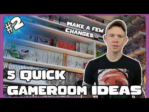 5 Quick Display Ideas for a Game Collection! Part 2!