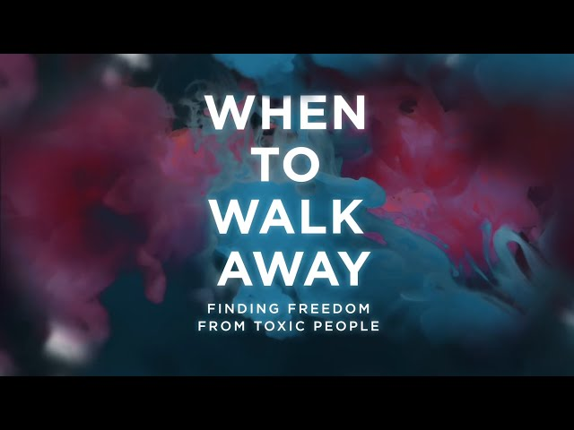 When to Walk Away Promo - Video Bible Study by Gary Thomas