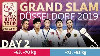 Judo Grand-Slam Düsseldorf 2019: Day 2