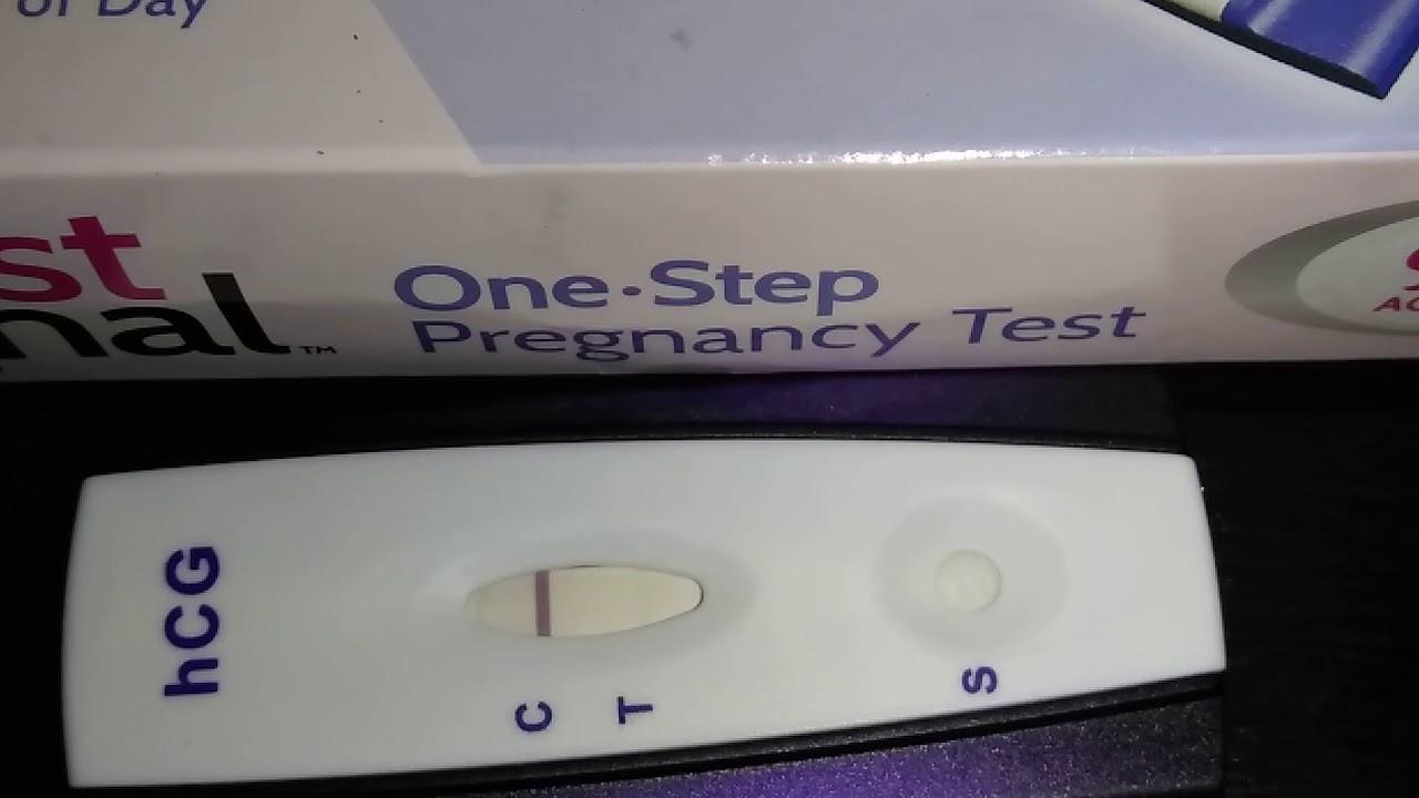 prueba embarazo linea muy tenue
