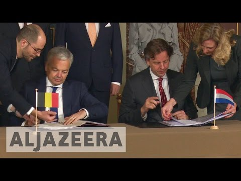 The Netherlands and Belgium seal land swap deal