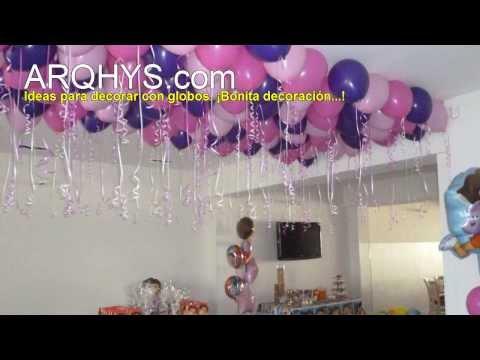 Decoración con globos infantiles