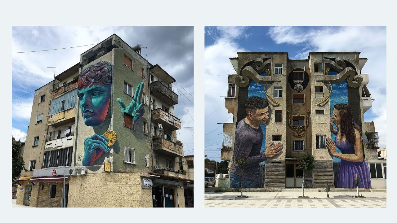 Artist Creates Large Scale Street Art Murals Across Europe, Makes Boring Buildings Interesting
