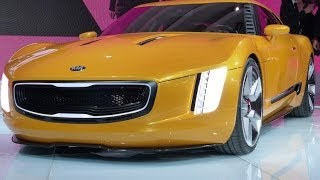 Kia GT4 Stinger Concept 2014 Videos
