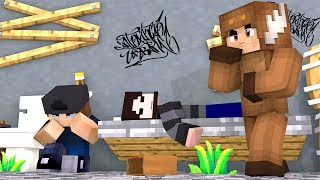 PROPER DUMMIES GO TO PRISON | Minecraft Cops and Robbers