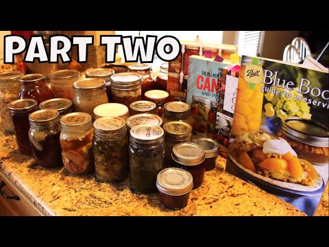 Things I Have Canned & And My Future Canning Projects